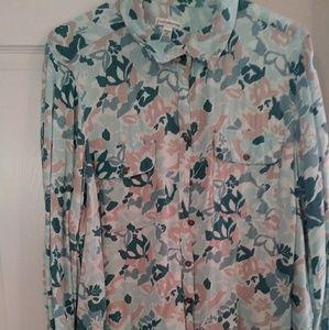 Pattern soft shirt